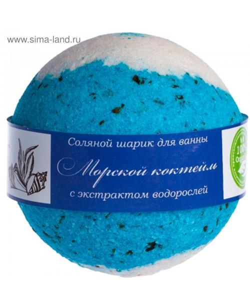 Шар бурлящий для ванны Savonry Морские водоросли (160г)