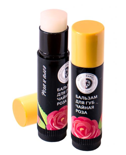 Бальзам для губ Дом Природы Чайная роза (6г)