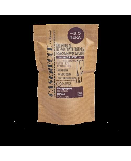 Макароны из муки твердых сортов пшеницы КАЗАРЕЧЧЕ (250г)