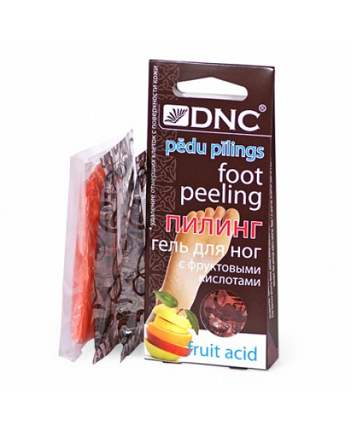 Гель для ног с фруктовыми кислотами DNC (пилинг)