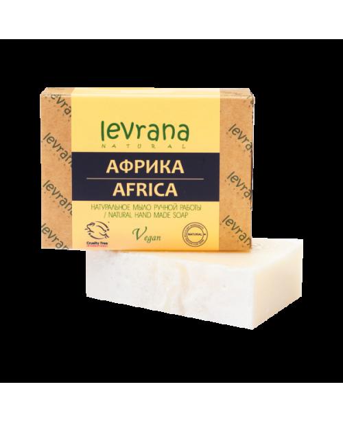 Мыло натуральное ручной работы LEVRANA Африка (100г.)