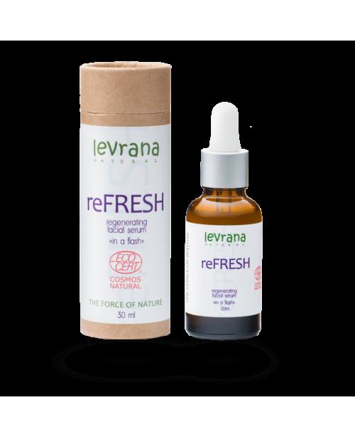 Сыворотка для лица LEVRANA reFresh Регенерующая обновление кожных клеток EC (30мл)