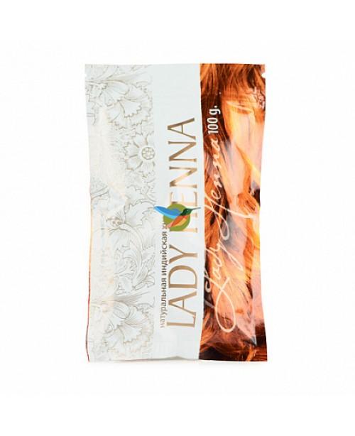 Натуральная хна для волос, рыжий, Ledy Henna