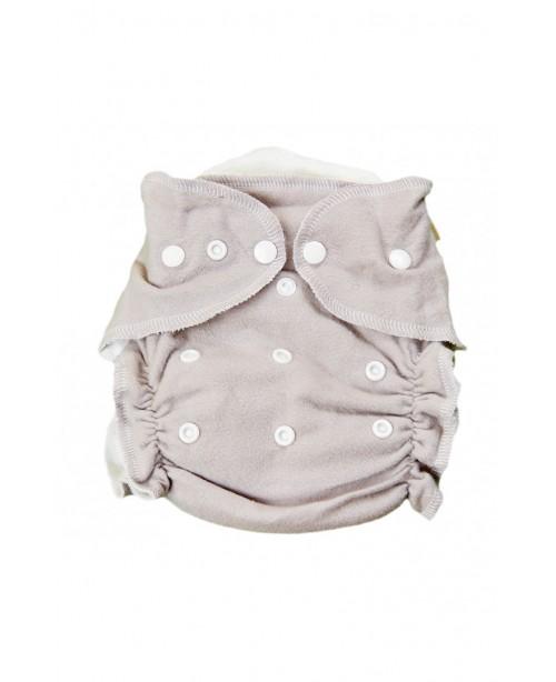 подгузники Little pirate Classic цвет серый, в комплекте 1 вкладыш
