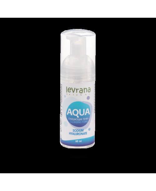 Пенка для умывания LEVRANA AQUA с гиалуроновой кислотой (150мл)
