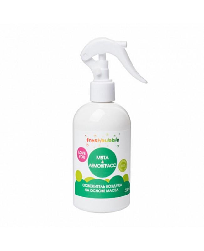Освежитель воздуха FreshBubble Мята и лемонграсс (300мл.)