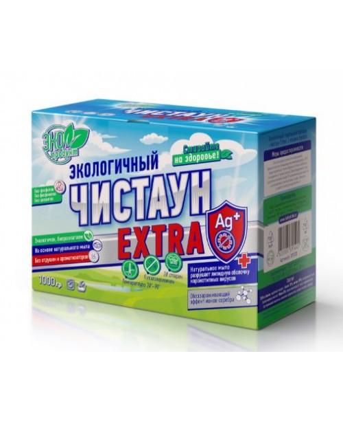 """Экологичный стиральный порошок с ионами серебра """"Чистаун"""" 1000г """"Extra"""""""