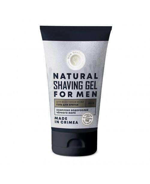 Гель для бритья Дом Природы мужской для всех типов кожи (100г)