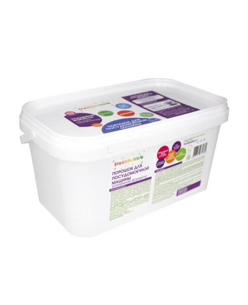 Порошок для посудомоечной машины FRESHBUBBLE усиленный (3кг)
