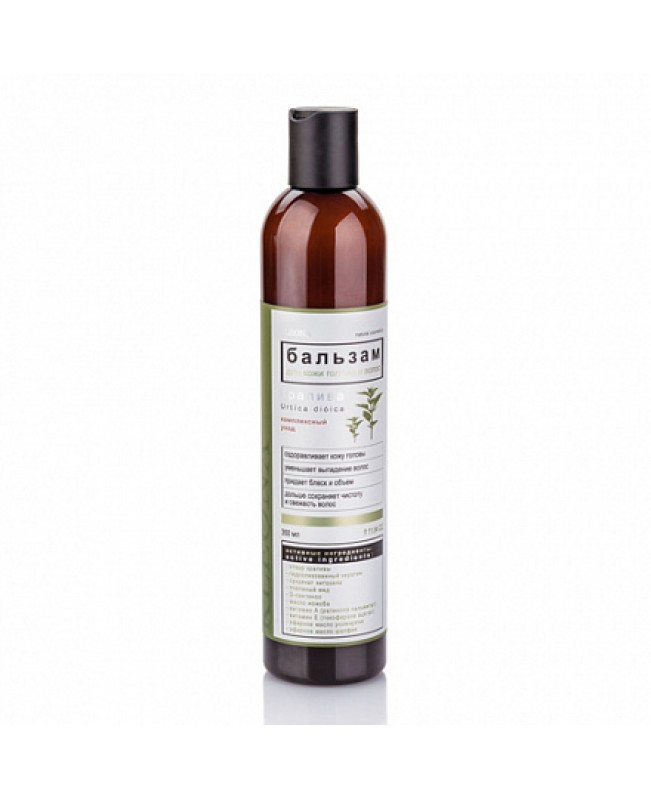 Бальзам для волос Клеона Крапива для кожи головы и волос (350мл)