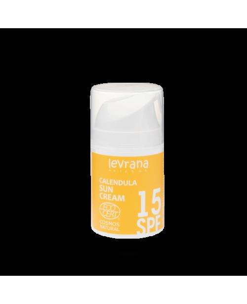 Крем для лица LEVRANA Календула SPF 15 матирующий эффект (50мл)