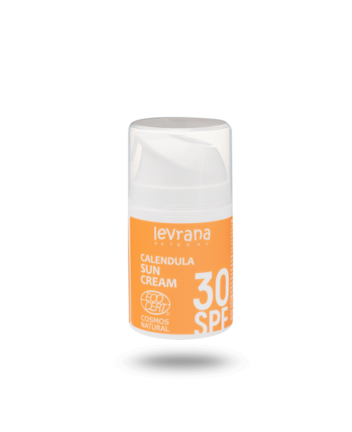 Крем для тела солнцезащитный LEVRANA Календула SPF 30 (50мл)