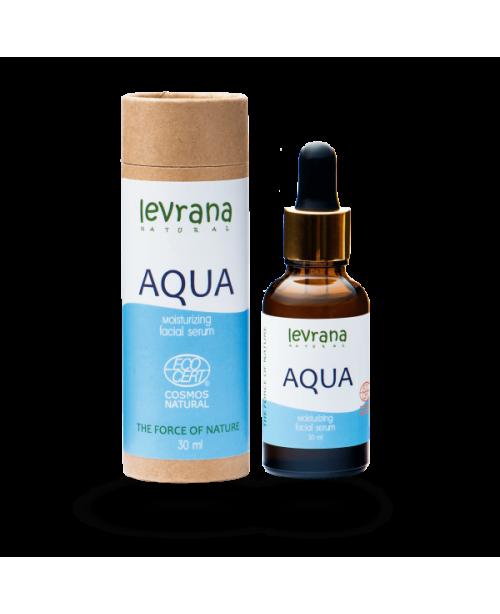 Сыворотка для лица LEVRANA Aqua увлажняющая EC (30мл)
