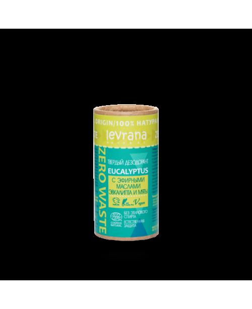 Дезодорант твердый Levrana Эвкалипт (75гр) упаковка картон