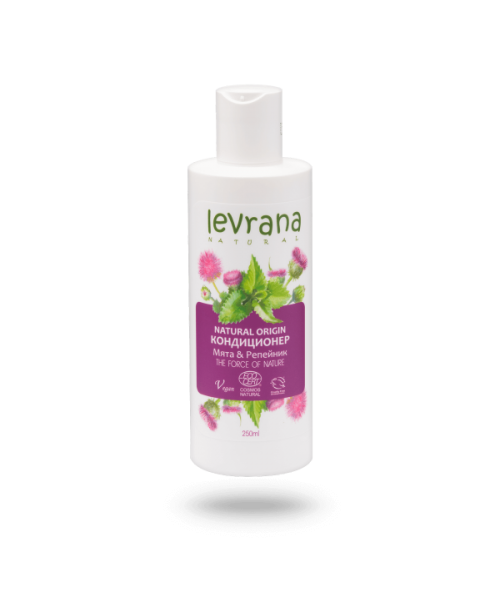 Кондиционер для волос LEVRANA Мята-репейник (250мл)