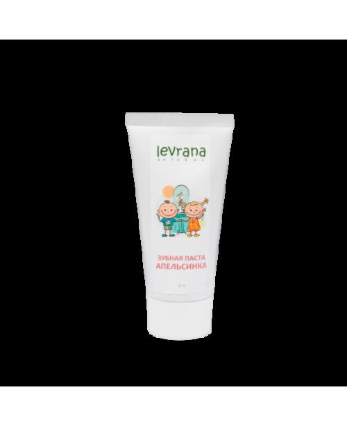 Паста зубная детская LEVRANA Апельсинка (50мл)