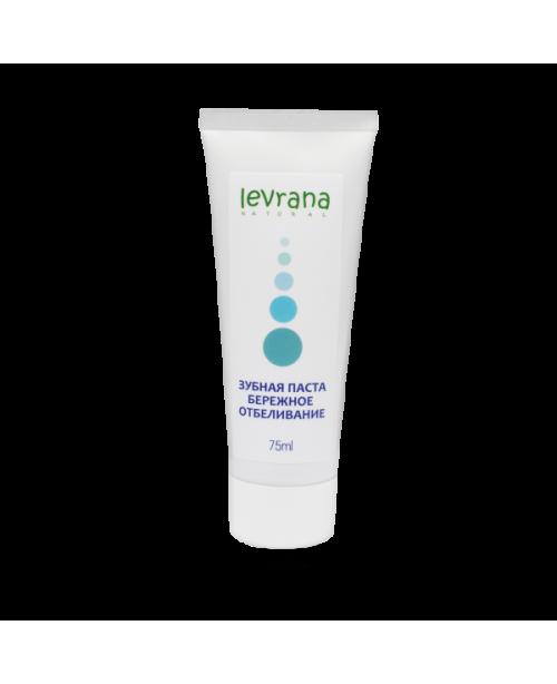 Зубная паста LEVRANA Бережное отбеливание (75мл.)