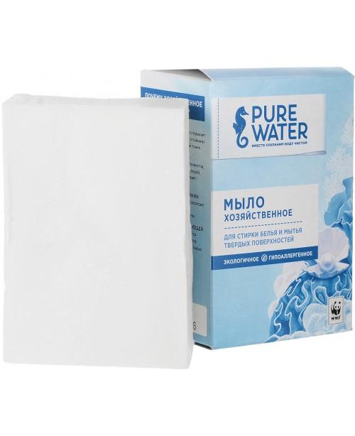 Мыло хозяйственное Pure Water (175г.), шт