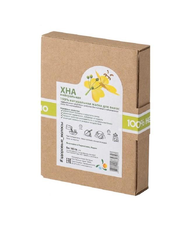 """Натуральная краска """"Хна"""" (порошок Lawsonia Inermis), Мыльные орехи, 100 гр."""