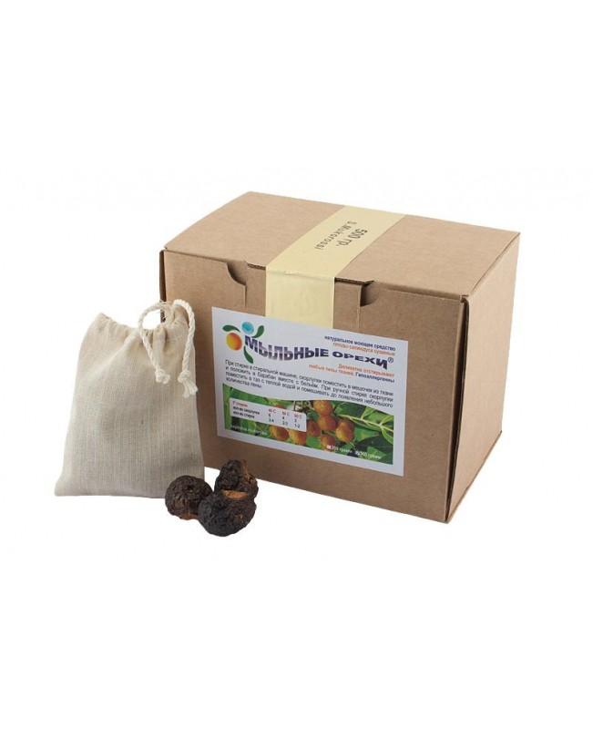 Мыльные орехи® для стирки S.Mukorossi 500 гр.(с мешочком для стирки)