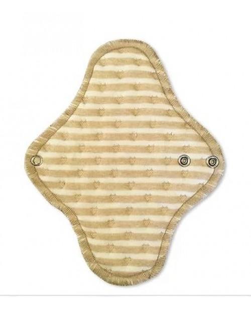 Прокладка ежедневная 16 см (цвет - бежевая полоска) с мембраной