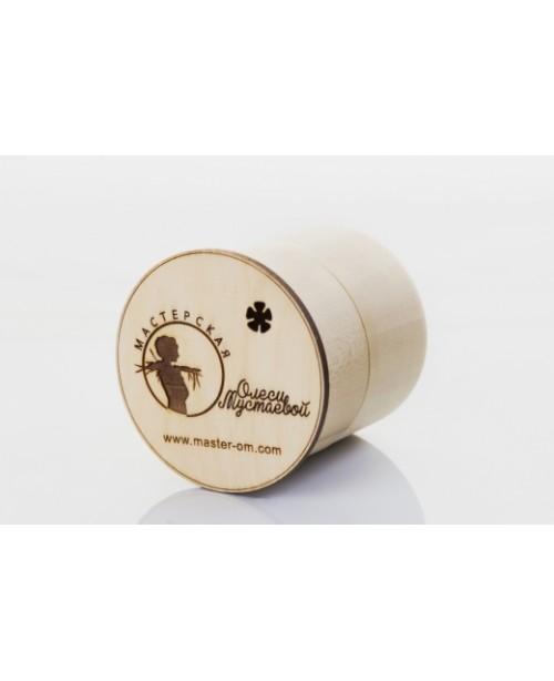 Коробочка для твердого шампуня МОМ цилиндр (1шт)